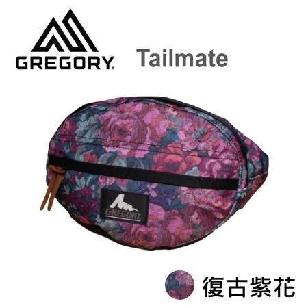 【美國Gregory】Tailmate日系休閒腰包-復古紫花-XS