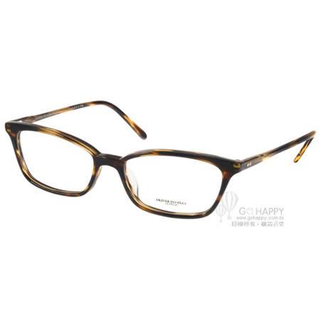 OLIVER PEOPLES光學眼鏡 極致工藝細框款(流線棕) #SCARLA 1003