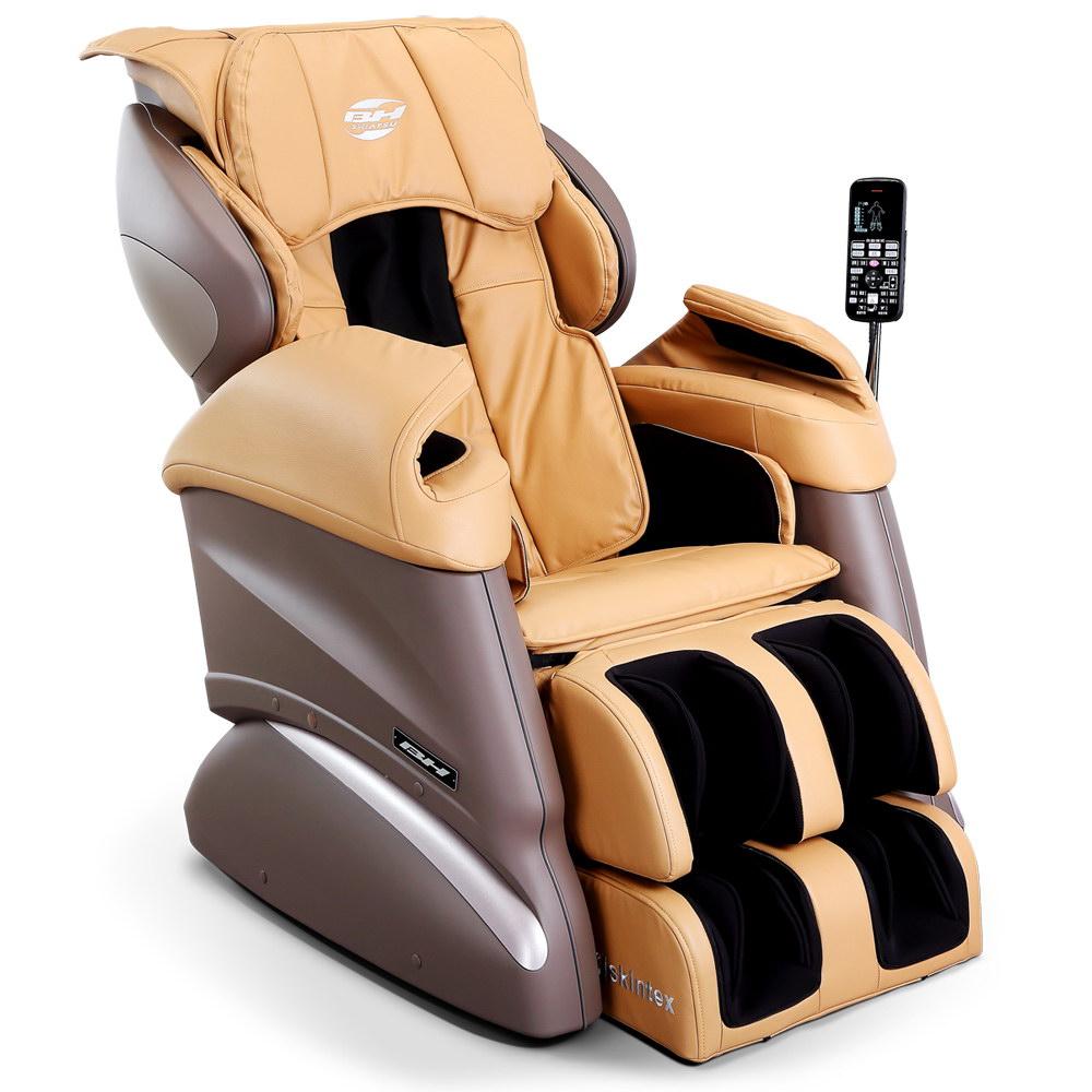 【BH】MB1250 4D超體感按摩椅(淺棕色)