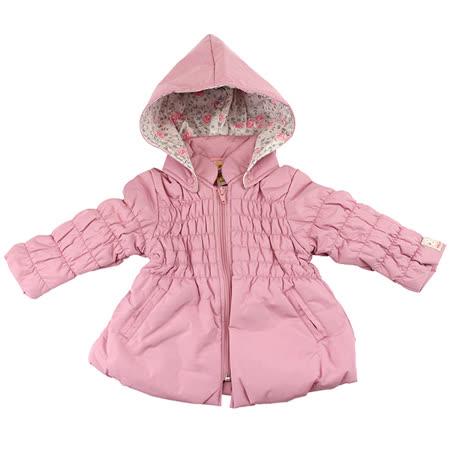 【愛的世界】MYBABY 小熊甜心系列防風保暖鋪棉外套/6~12歲-台灣製-