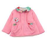 【愛的世界】LOVEWORLD 金魚系列POLO衫領鋪棉上衣/3~6歲-台灣製-