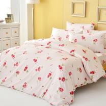 LAMINA 法式香頌-精梳棉四件式被套床包組(雙人)