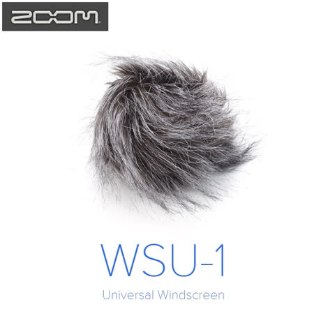 日本Zoom麥克防風毛罩WSU-1 適H1 H2n H4n H5 H6還有更多...