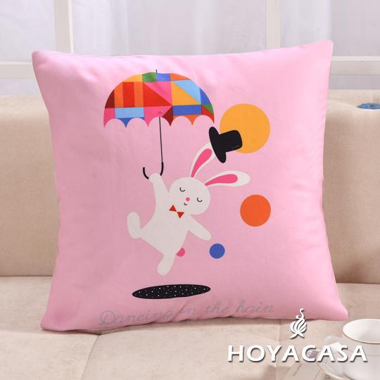 ~HOYACASA 玩味~甜心兔沙發抱枕靠墊