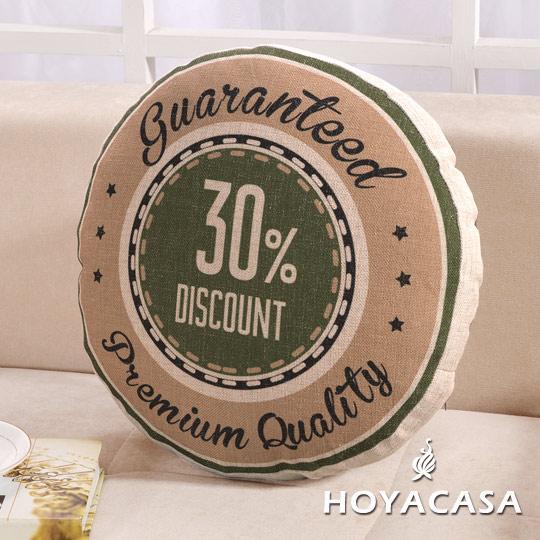 ~HOYACASA 美式 ~格斯特麻布沙發抱枕靠墊