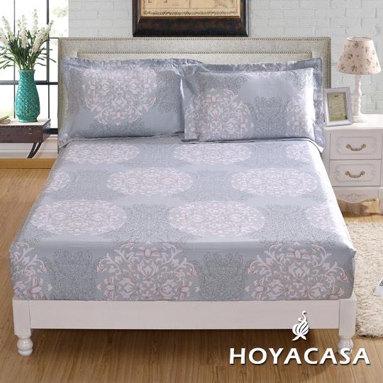 ~HOYACASA 巴洛公爵~雙人親膚極潤天絲床包枕套三件組