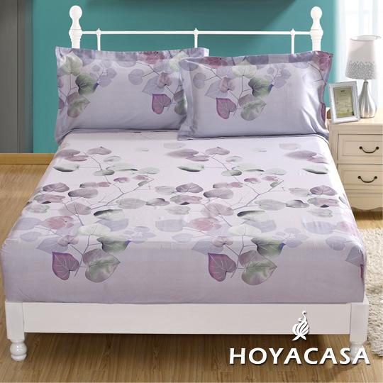 ~HOYACASA 舊日時光~雙人親膚極潤天絲床包枕套三件組