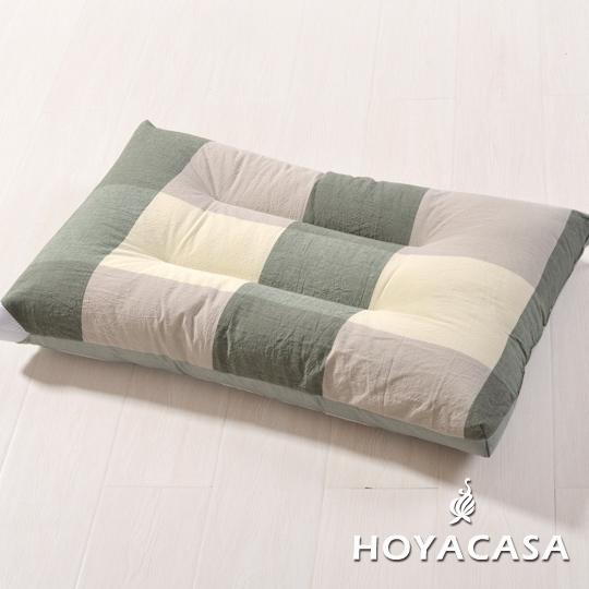 ~HOYACASA 極簡無印~森林格調~水洗彈力釋壓枕