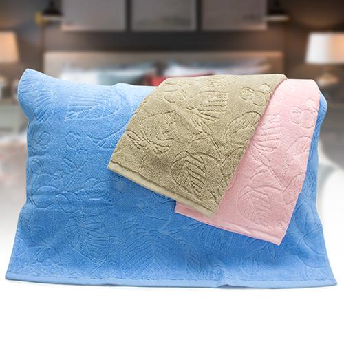 芋葉緹花枕巾1入^(50^~72cm^)