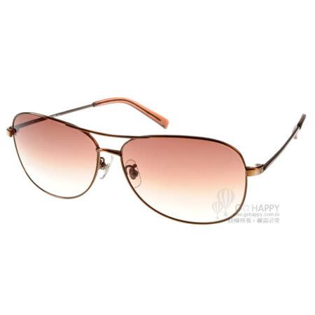 agnes b.太陽眼鏡 簡約經典飛行款(古銅) #AB1791 BR
