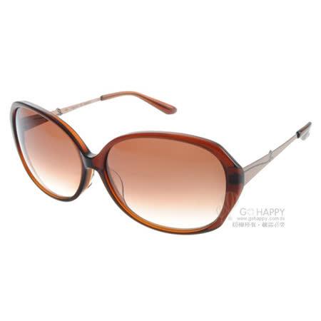 agnes b.太陽眼鏡 流行元素百搭款(棕) #AB2801 DB