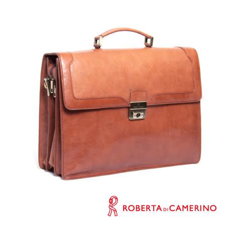 Roberta di Camerino 樹膏皮三層公事包  020R-42902