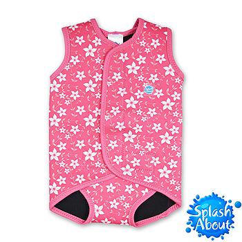 Splash About 潑寶 BabyWrap 包裹式保暖泳衣 - 陽光櫻花