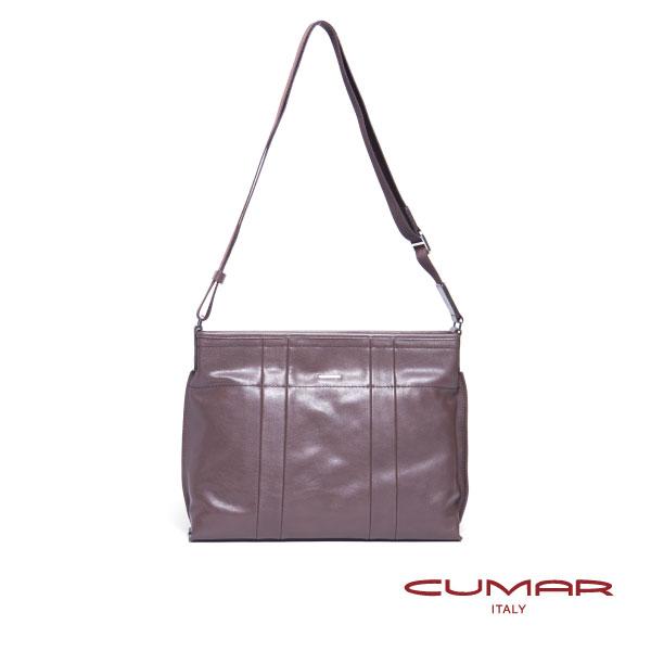 CUMAR 全皮手提側背公事包 0296~E3902