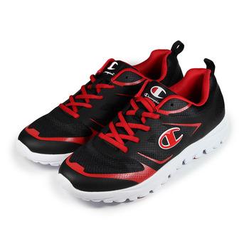 (男) CHAMPION 輕量跑鞋 黑紅 鞋全家福