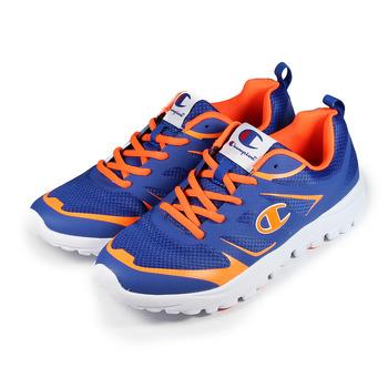 (男) CHAMPION 輕量跑鞋 藍橘 鞋全家福