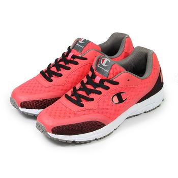 (女) CHAMPION 輕量跑鞋 西瓜紅 鞋全家福
