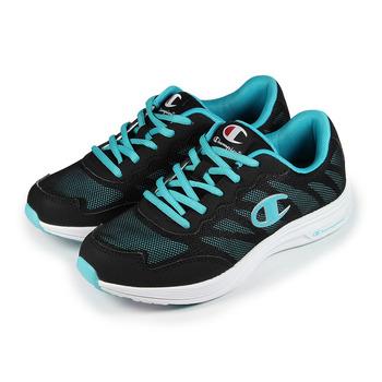 (女) CHAMPION 休閒運動鞋 黑藍 鞋全家福
