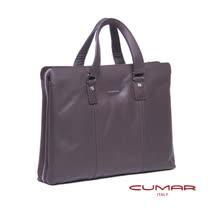 CUMAR 全皮大開口公事包 0296-E9902