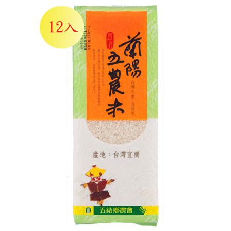【蘭陽五農】-五農米(磚型)-12入