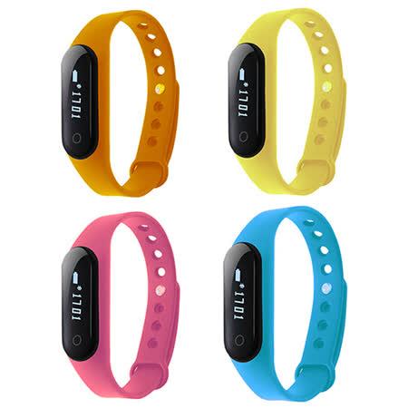 IS愛思 ME2H觸控藍牙智慧運動手環(加贈黑色錶帶)