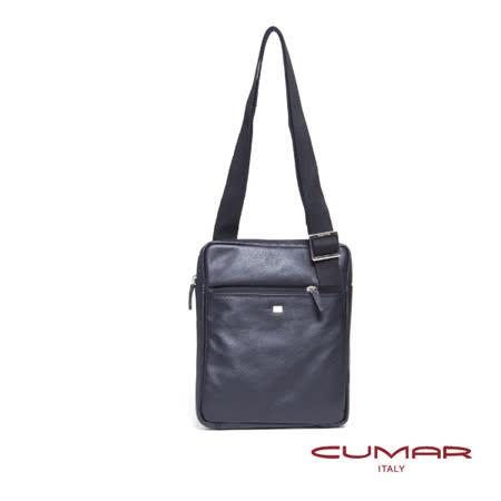 CUMAR 義大利原裝進口全皮側背包 0296-G3901