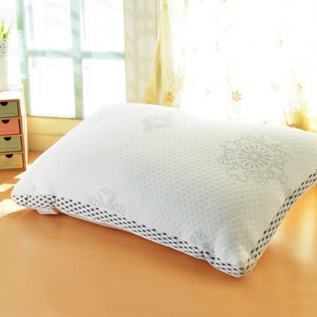 (品特) LooCa新典乳膠釋壓獨立筒枕(1入)