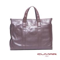 CUMAR 全皮手提/側背公事包 0296-E3802