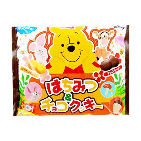 日本古田 小熊維尼蜂蜜巧克力餅乾 120g