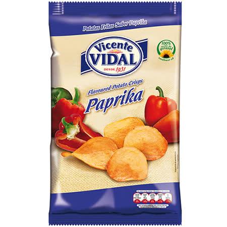 西班牙 比達爾紅椒風味洋芋片135g