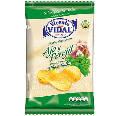 西班牙 比達爾香菜蒜味洋芋片135g