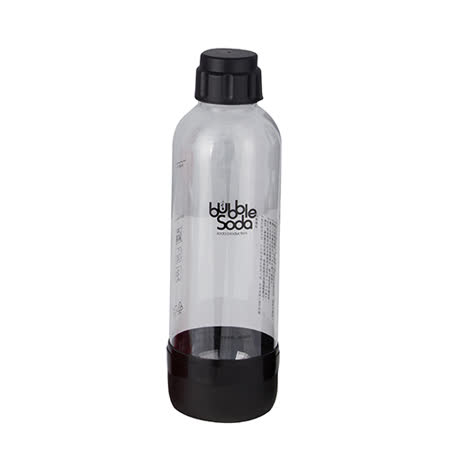 Bubble Soda 專用水瓶組BS-268(黑色)