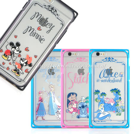 Disney iPhone 6 Plus/6s Plus 專業耐衝擊aprolink雙料保護殼-手繪款