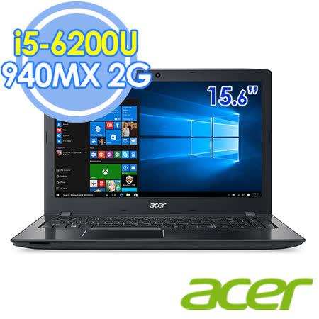 Acer E5-575G-58KH 15.6吋 i5-6200U 雙核 2G獨顯 FHD Win10筆電-送50*80cm超厚感防霉抗菌釋壓記憶地墊+acer保溫杯+acer無線滑鼠