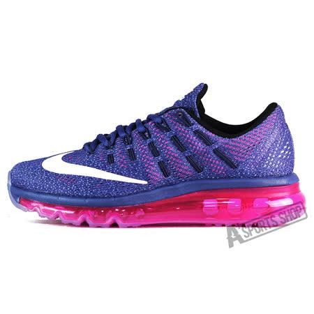 NIKE (女) 耐吉 WMNS NIKE AIR MAX 2016 慢跑鞋 紫紅-806772502