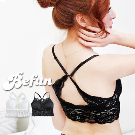 【 BF 內著專科 】#HTEA 8252 兩穿美背式 蕾絲花 氣質百搭 雙肩 內衣 露背洋裝 小可愛 罩杯可換