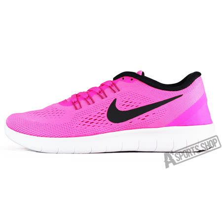 NIKE (女) 耐吉 WMNS NIKE FREE RN 慢跑鞋 紅-831509600