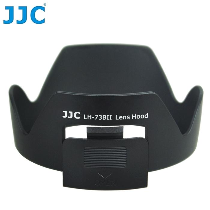 JJC副廠Canon遮光罩EW~73B^(有開口開窗 方便轉CPL偏光鏡^)