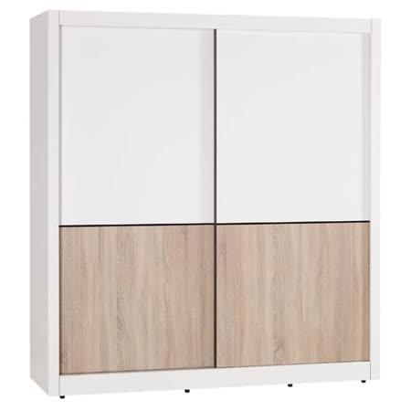 柯嘉絲6尺推門衣櫥