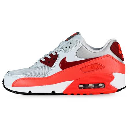 Nike 女 WMNS AIR MAX 90 ESSENTIAL 經典復古鞋 耐吉 紅/橘/白 - 616730028