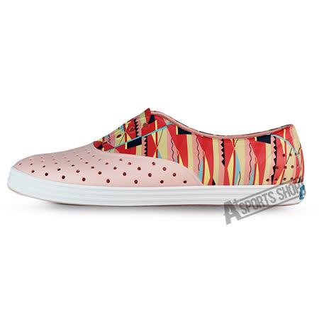 NATIVE (女) 懶人鞋 紅-004018218