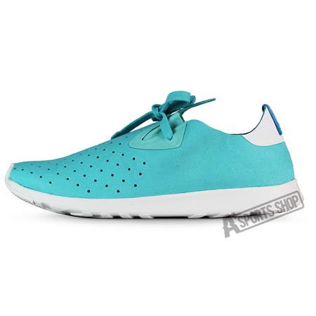 NATIVE (女) 懶人鞋 藍綠-024004251