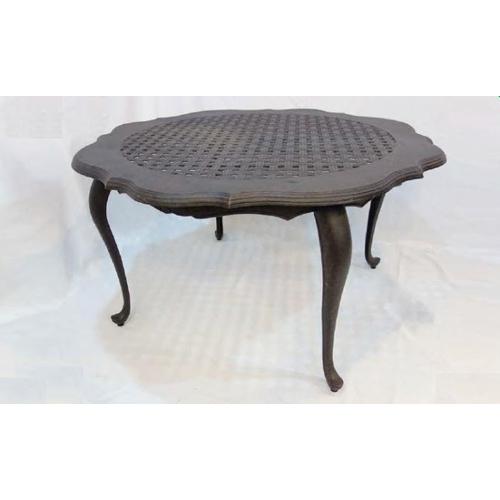 鋁合金4.6尺法蘭西圓桌
