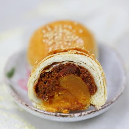 (白鵝山腳普一食品) 牛肉蛋黃酥(6入)