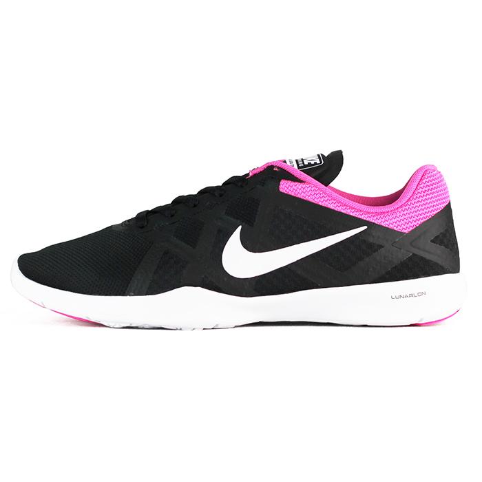 Nike 女 WMNS NIKE LUNAR LUX TR 慢跑鞋 耐吉 黑粉 ~ 749