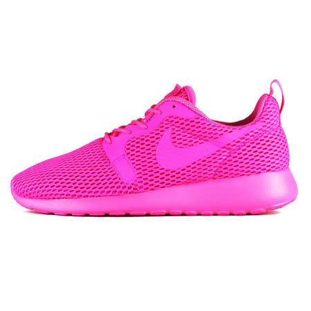 Nike 女 WMNS NIKE ROSHE ONE HYP BR 慢跑鞋 耐吉 粉 - 833826600