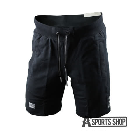 PUMA (男) 彪馬 基本系列美式休閒棉短褲(M) 黑-83898801