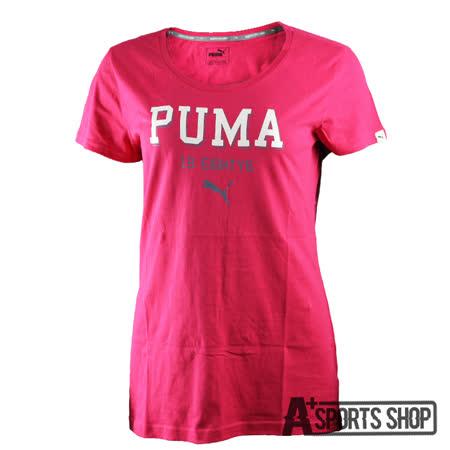 PUMA (女) 彪馬 基本系列PUMA短袖T恤(F) 紅-83907324