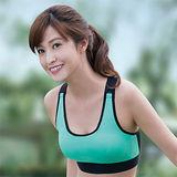 【華歌爾】輕運動5星級防護 B 罩杯M-LL 運動內衣(陽光綠)