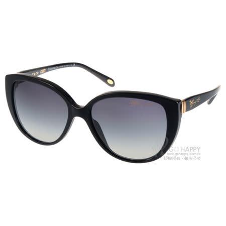 Tiffany&CO.太陽眼鏡 奢華經典女款(黑) #TF4082 80013C